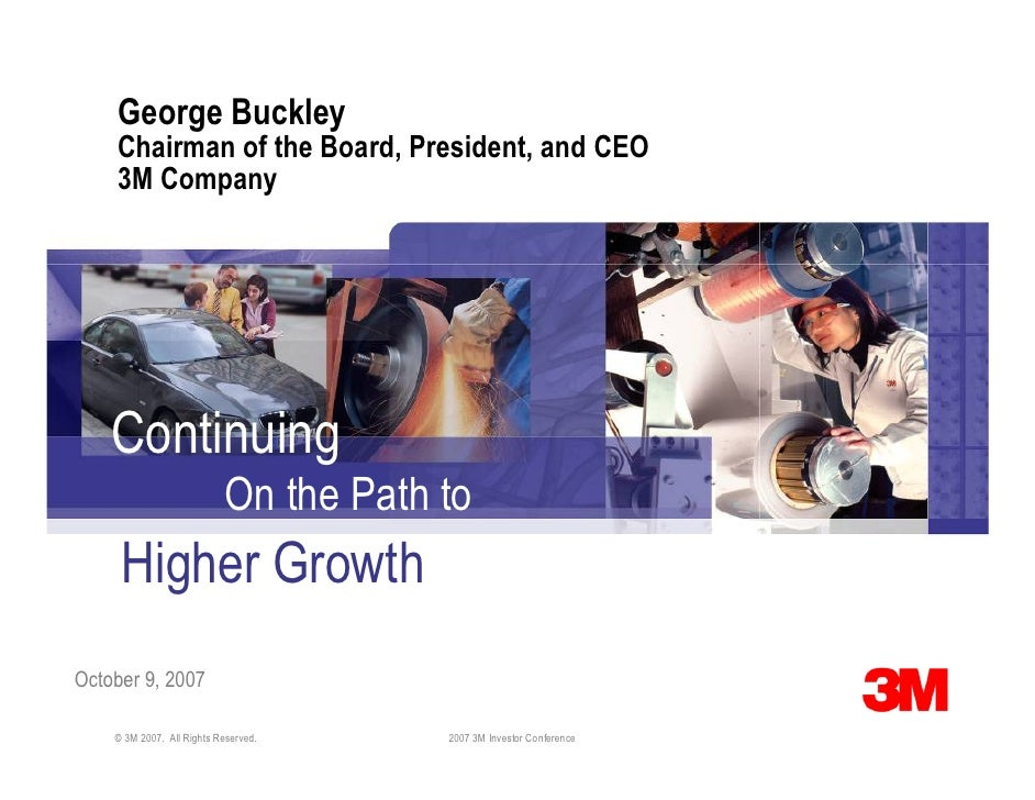 George Buckley     Chairman of the Board, President, and CEO     3M Company         Continuing                            ...