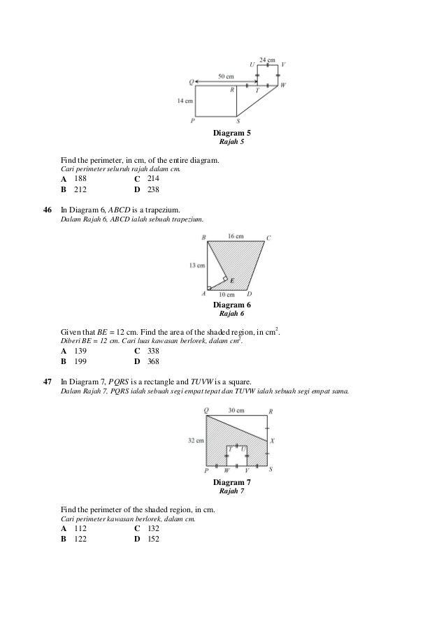 100 soalan Matematik Ting2