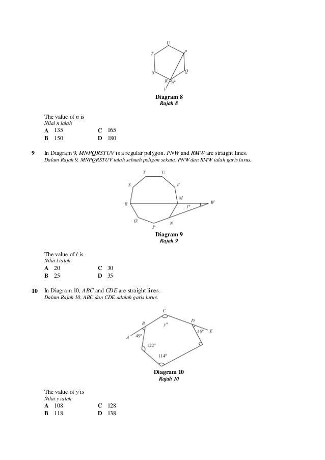 100 soalan matematik ting3 4 ccuart Gallery