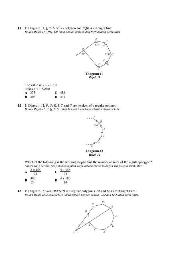 100 soalan matematik ting3 5 ccuart Gallery