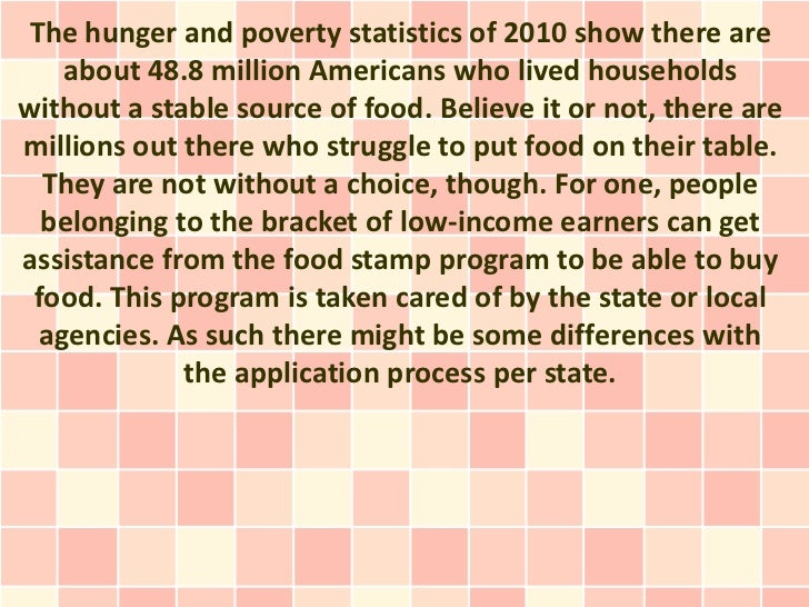 Do You Know How To Apply For Food Stamps In Florida