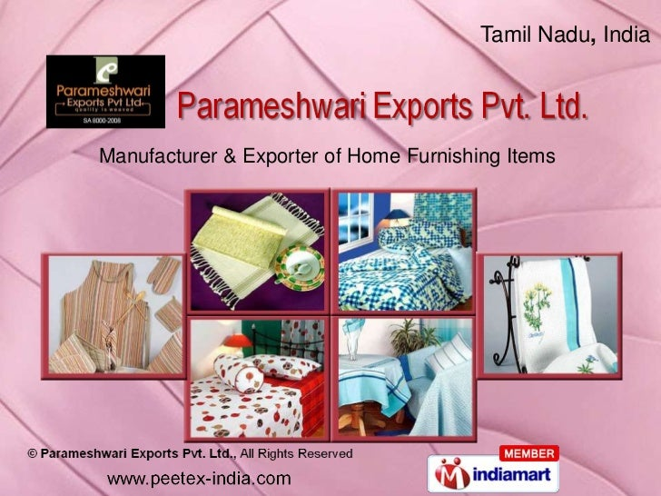 Curtains by Parameshwari Exports Pvt Ltd, Karur