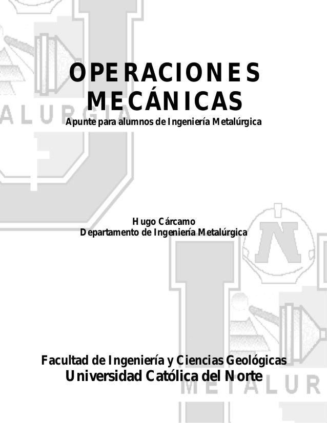 105665602 operaciones-mecanicas-metalurgia-ucn