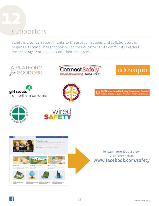 Facebook for Educators and Community Leaders (Property of