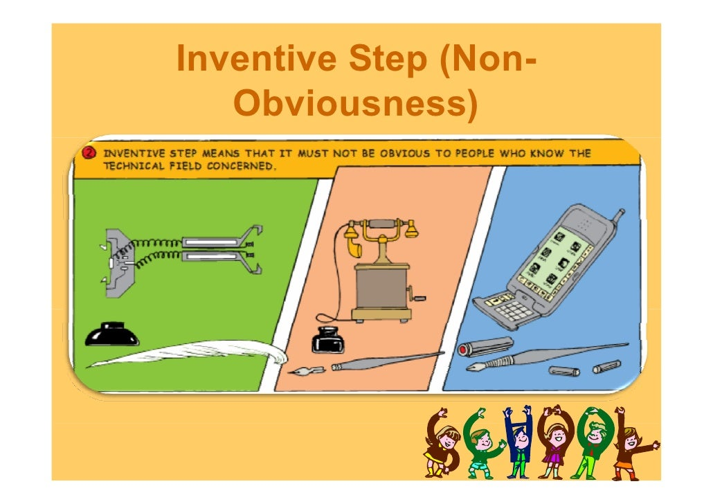 inventive step and non obviousness and sporting What constitutes a patentable invention non-obviousness/inventive-step non-obviousness/inventive-step: the meaning of the term non obviousness is that the.