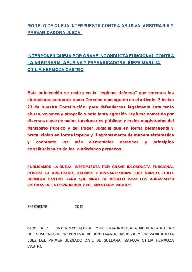 Ejemplo Carta De Quejas Y Reclamos Recipes Blog O