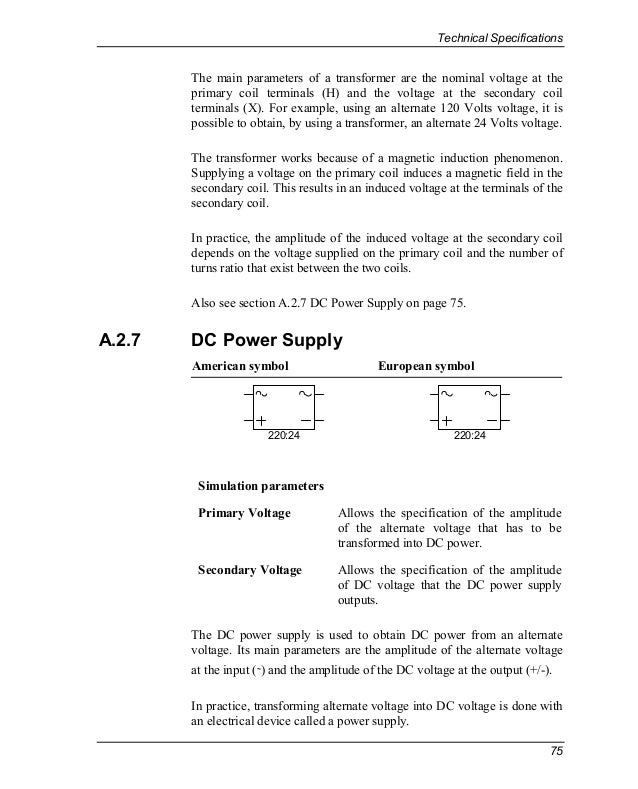Nice Symbol For Dc Power Component - Schematic Diagram Series ...