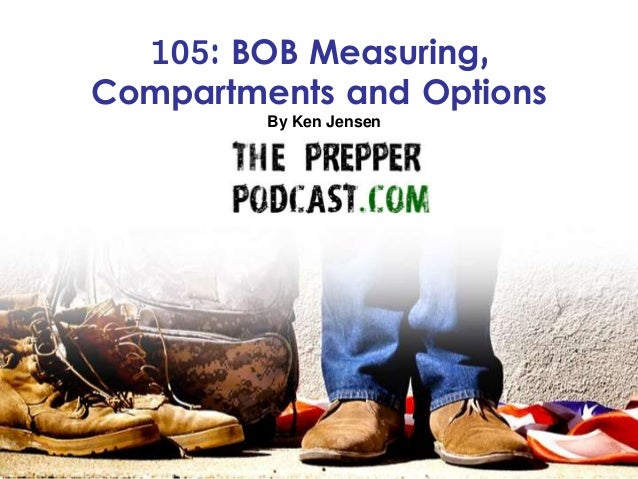 105: BOB Measuring, Compartments and Options By Ken Jensen