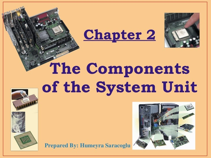 Chapter 2 The Components of the System Unit Prepared By: Humeyra Saracoglu