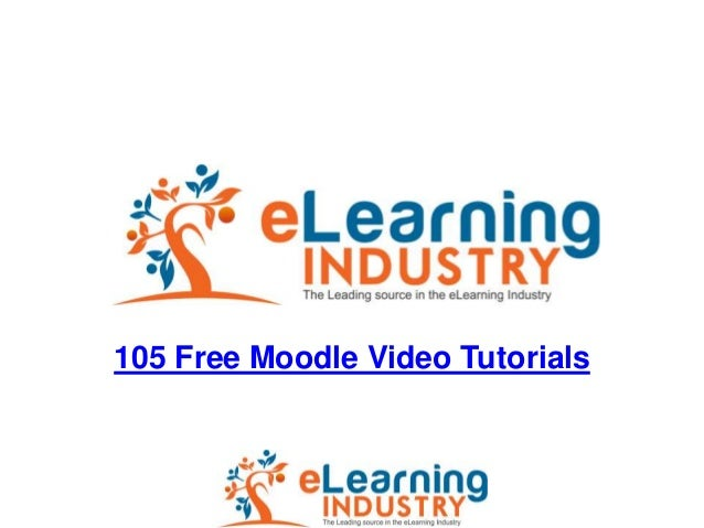105 Free Moodle Video Tutorials