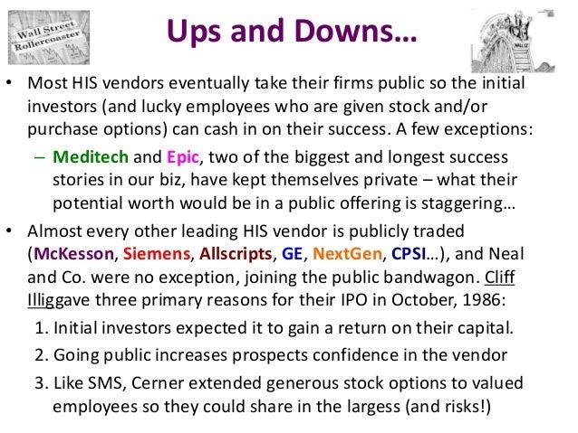 Cerner employee stock options