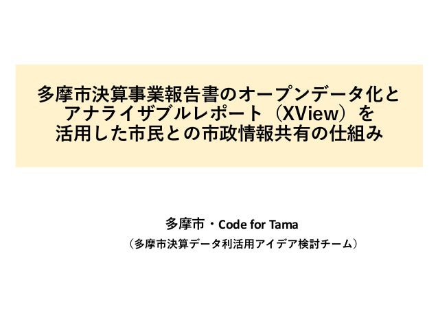 Code for Tama