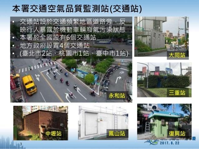 環保署加強交通空氣品質監測,首波臺中市監測結果出爐 Slide 3