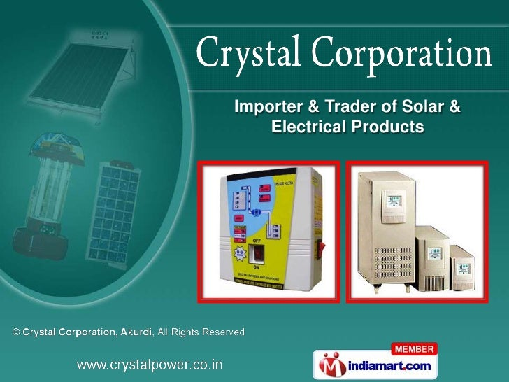 Importer & Trader of Solar &    Electrical Products