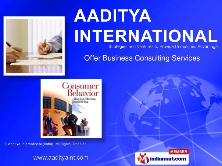 Offer Business Consulting Services