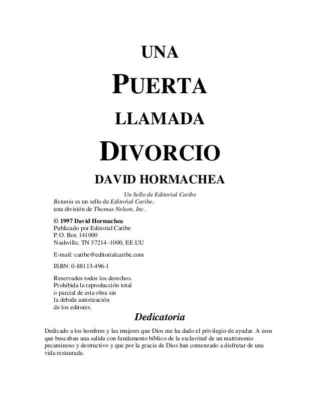 106267242 Una Puerta Llamada Divorcio