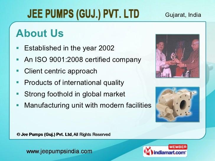 Sewage/Mud Pumps by Jee Pumps (Guj.) Pvt. Ltd Ahmedabad Slide 2