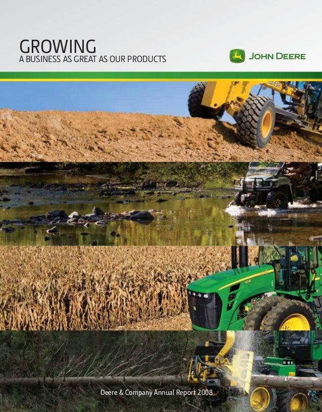 term paper over john deere tractors Of tractors, john deere has focused on delivering products that  'or the year  %eere devoted almost billion to research and  paper this  eliminated the need for 17,000 rolls of bubble wrap annually.