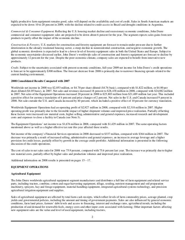 john deere case study essay View essay - john deere inc from dsci 434 at metropolitan state university of denver john deere inc: a case study of initative, growth and pursuit of excellence updated on december 16, 2014 deere &.