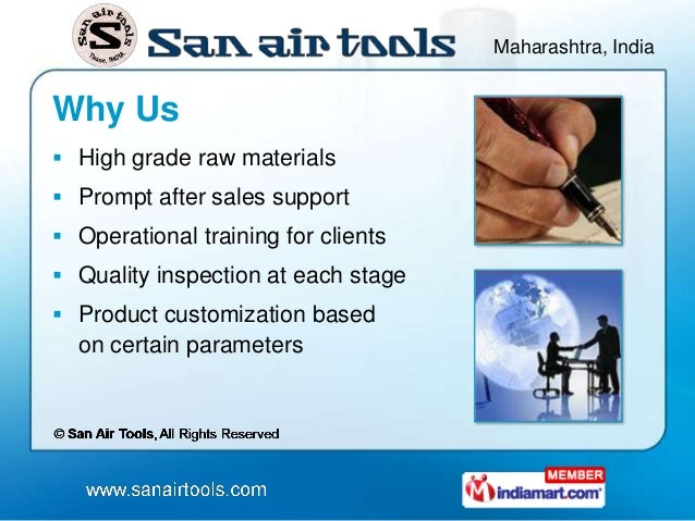 Maharashtra, IndiaWhy Us High grade raw materials Prompt after sales support Operational training for clients Quality ...