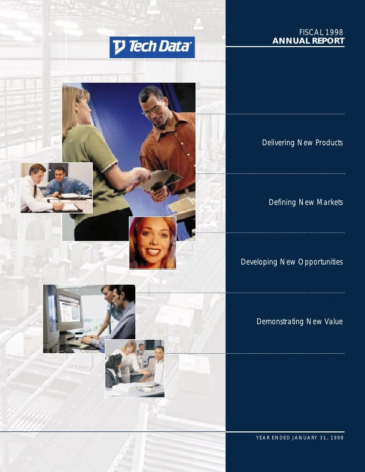FISCAL 1998          ANNUAL REPORT          Delivering New Products            Defining New Markets     Developing New Opp...