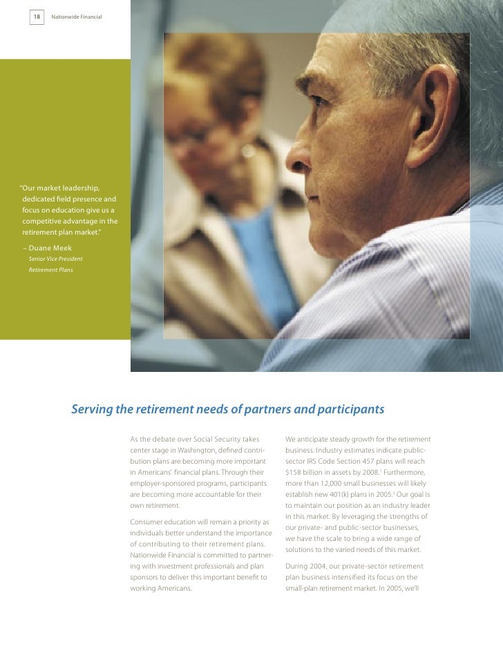 2004 Nationwide Financial Annual Report