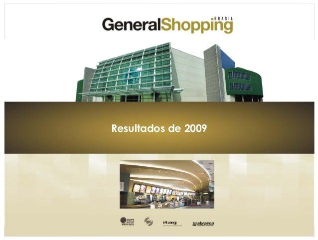0 Resultados de 2009