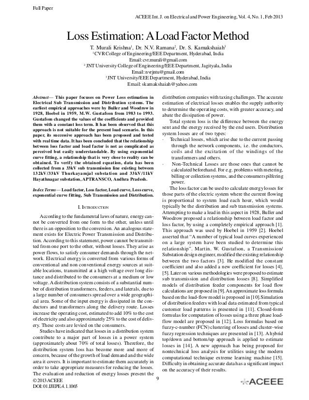 Full Paper                                                       ACEEE Int. J. on Electrical and Power Engineering, Vol. 4...
