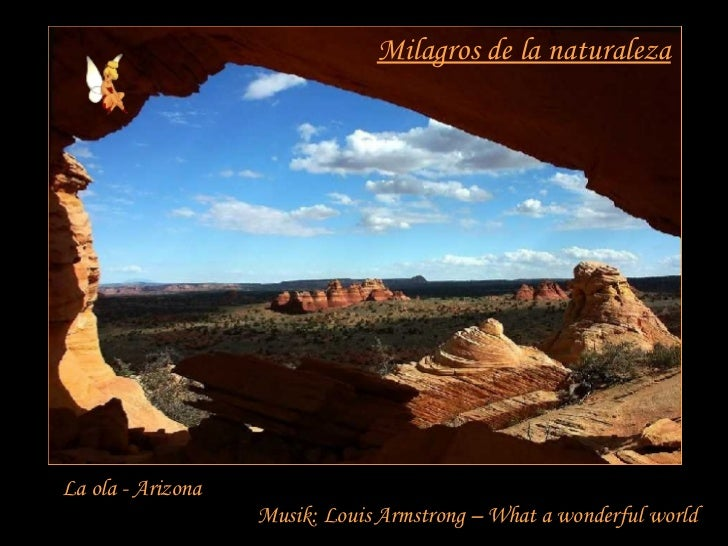 Milagros de la naturaleza La ola - Arizona Musik: Louis Armstrong – What a wonderful world