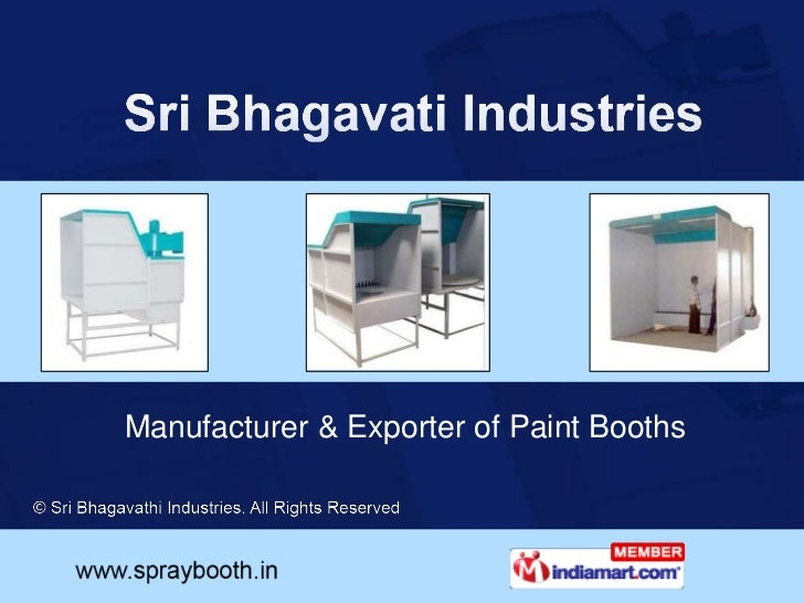Dust Collection Booths By Sri Bhagavathi Industries Coimbatore