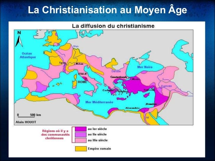 La Christianisation au Moyen Âge  <ul><li> </li></ul>