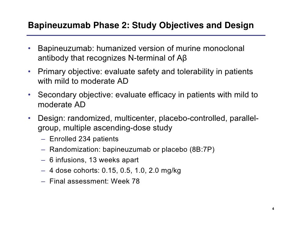 Wyeth Phase 2 Clinical Trial Of Bapineuzumab Icad July 2008   Travel Agent  Job Description
