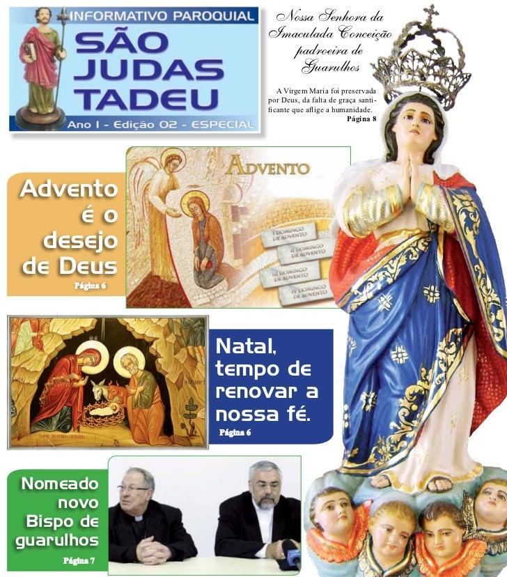 Nossa Senhora da                             Imaculada Conceição                                padroeira de              ...