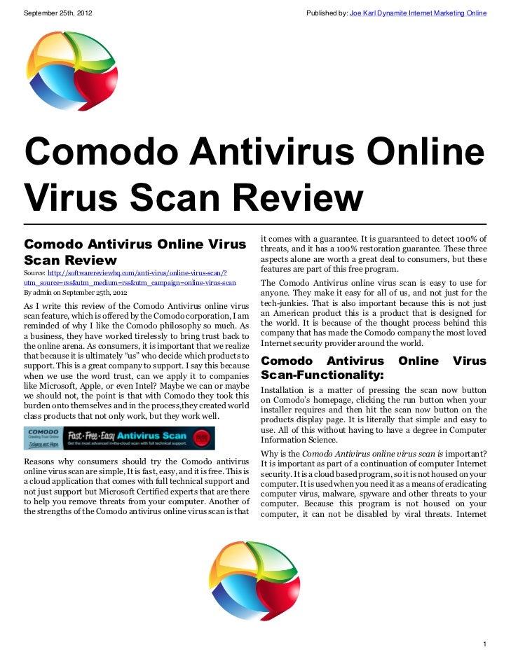 microsoft online virus scan