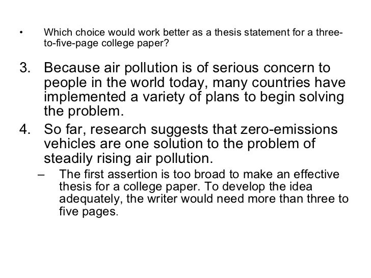 thesis statements for air pollution A worn path tone phd thesis on air pollution dissertation sur la culture philosophie writing a character sketch essay.
