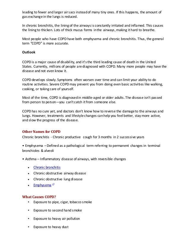 Case Study Respiratory Emphysema - Course Hero
