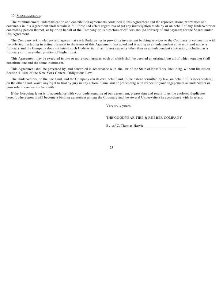 Underwriting Agreement: OFAC Representation