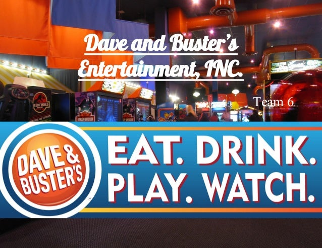 dave and busters inc Dave & buster's inc is changing hands, with wellspring capital management  agreeing to sell the chain of restaurants that double as.