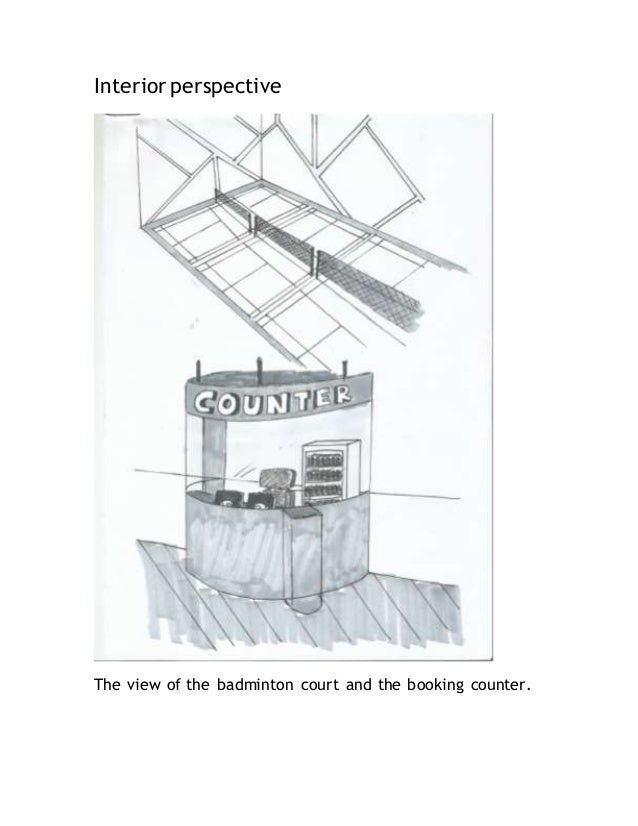 Ici final report for Badminton court ceiling height