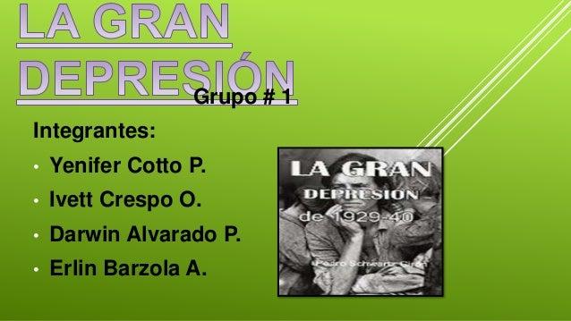 Grupo # 1 Integrantes: • Yenifer Cotto P. • Ivett Crespo O. • Darwin Alvarado P. • Erlin Barzola A.