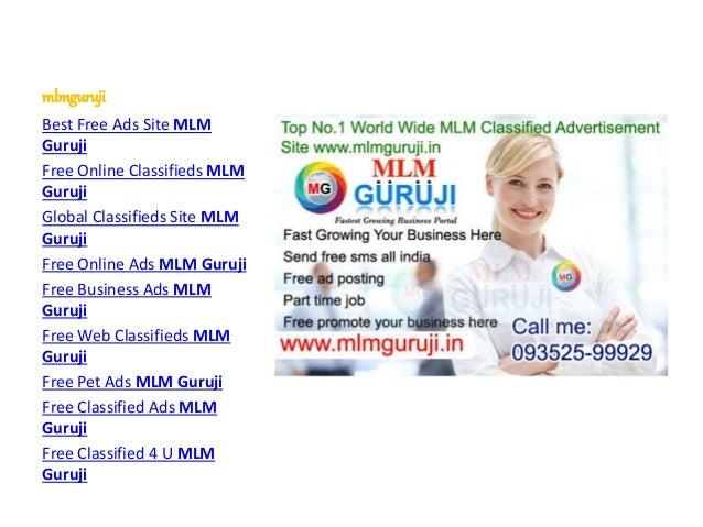 mlmguruji Best Free Ads Site MLM Guruji Free Online Classifieds MLM Guruji Global Classifieds Site MLM Guruji Free Online ...