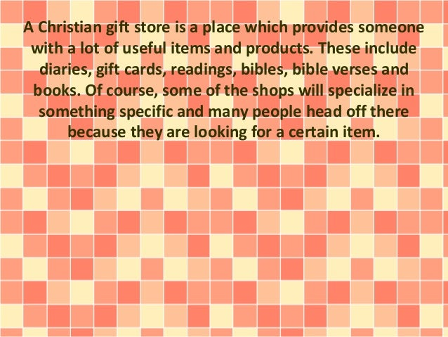 What You Will Find At A Christian Gift Store Slide 2