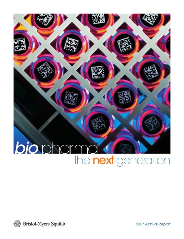 bio pharma NOPQ 2007 Annual Report bio pharma the next generation NOPQTogether we can prevail.TM 345 Park Avenue | New Yor...