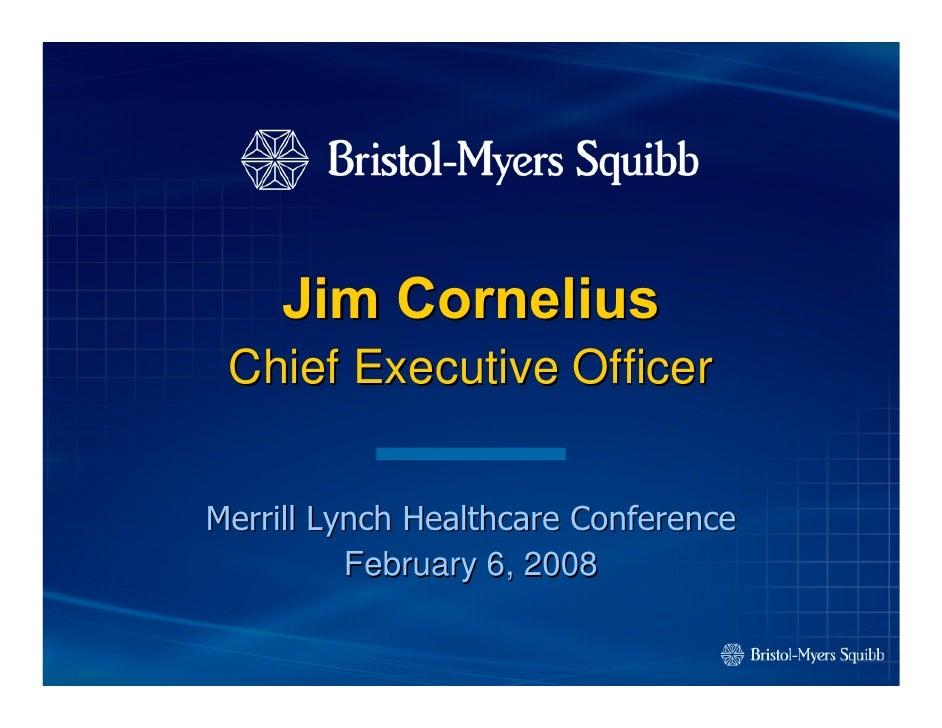 Merrill lynch healthcare deals