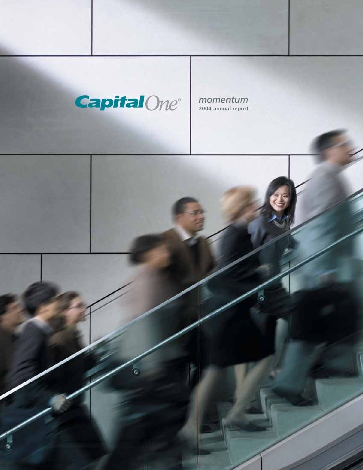capital one  Annual Report2004