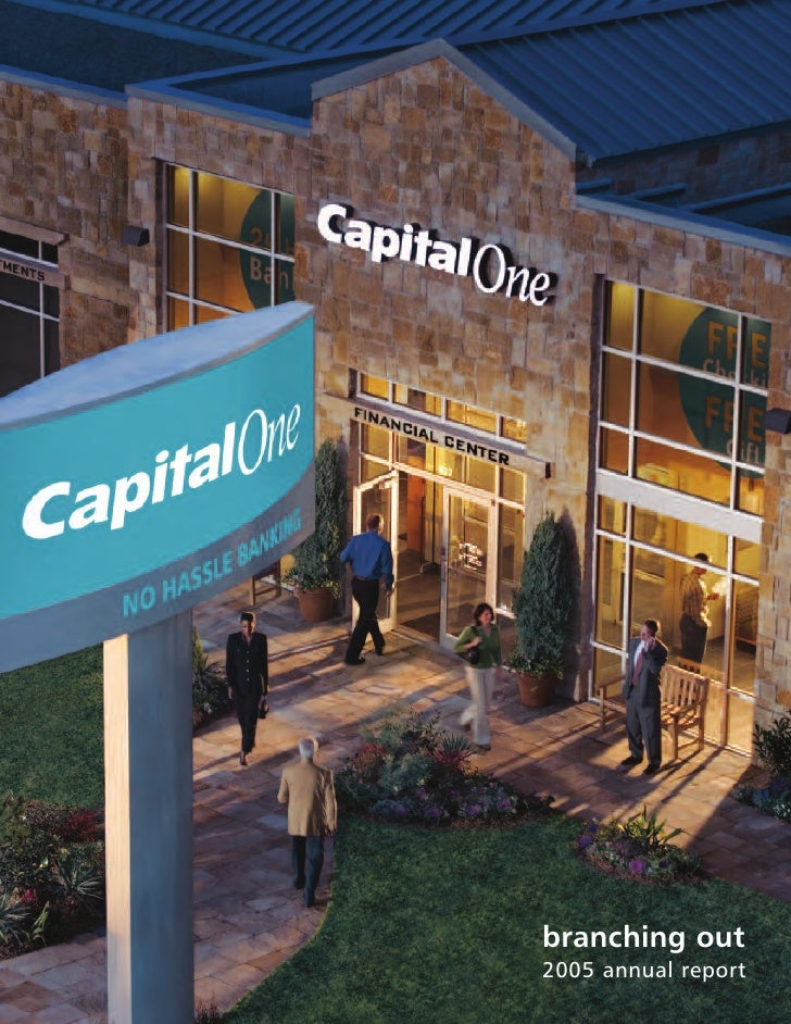 capital one  Annual Report2005