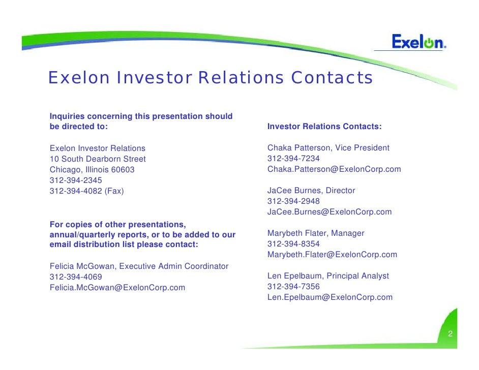 Exelon utilities