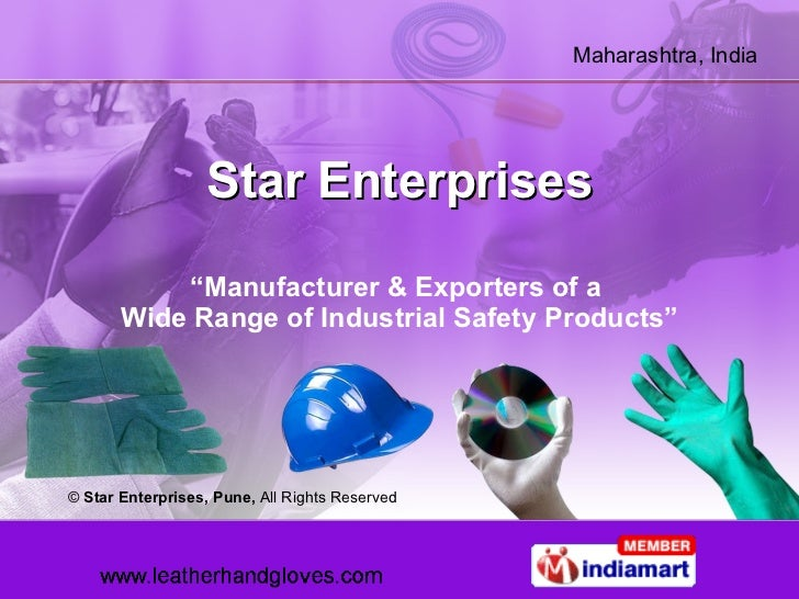 "Star Enterprises "" Manufacturer & Exporters of a  Wide Range of Industrial Safety Products"" ©  Star Enterprises, Pune,  Al..."