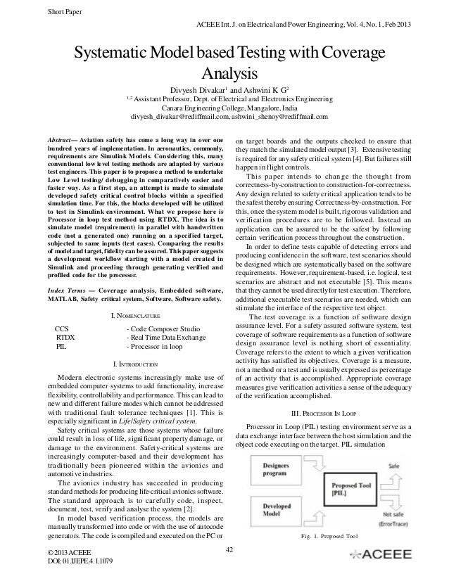 Short Paper                                                      ACEEE Int. J. on Electrical and Power Engineering, Vol. 4...