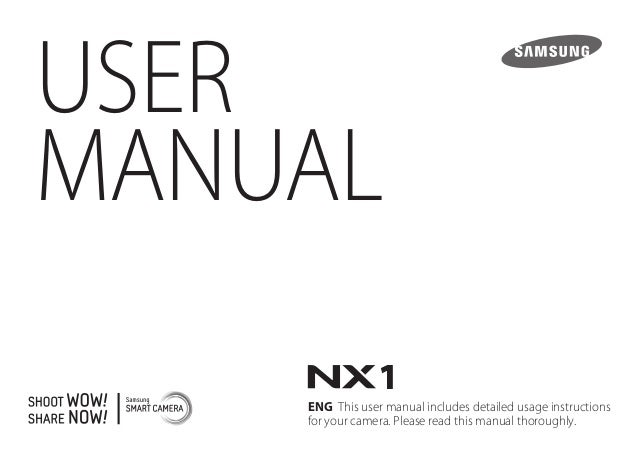 USER MANUAL ENG This user manual includes detailed usage instructions for your camera. Please read this manual thoroughly.